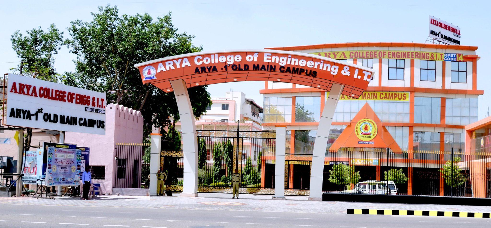 Arya Ist Old Main Campus Kukas Jaipur Rajasthan