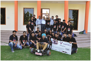 Kart Competition, Arya College of Engineering and IT, Arya 1st Old Campus, ACEIT, Arya SP42, Arya College Jaipur, Best Engineering College in Rajasthan
