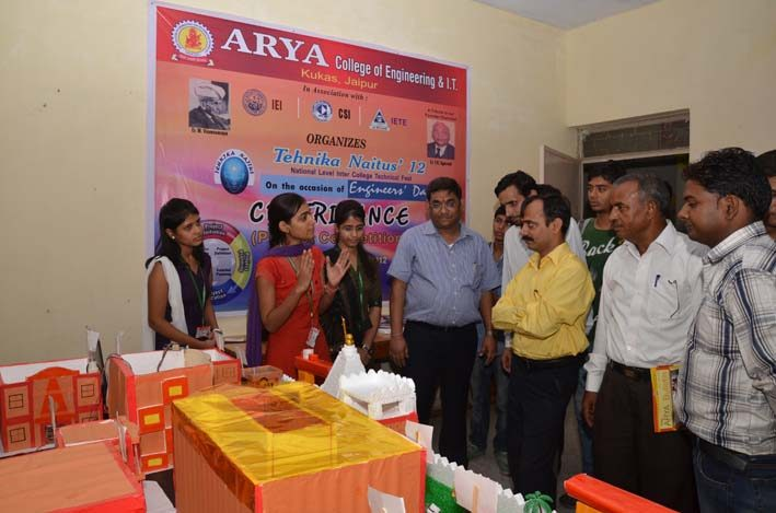 Tehnika Naitus 2018 - 5, arya college jaipur
