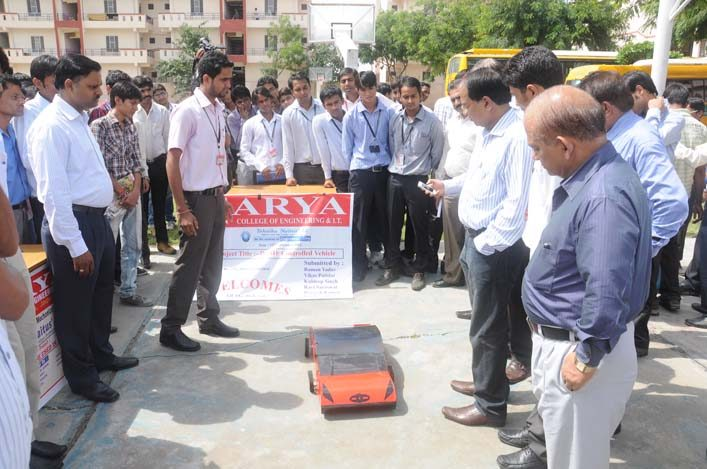 Tehnika Naitus 2018 - 7, arya college jaipur
