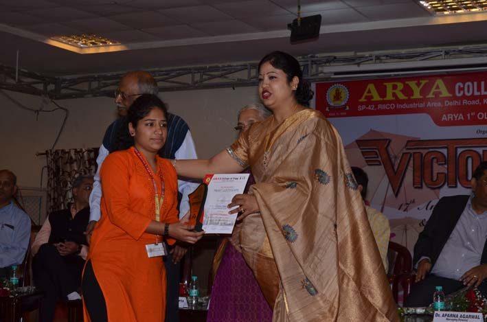 Arya_Victory2018, arya college jaipur