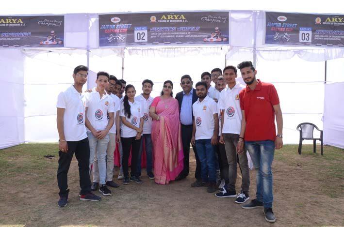 Jaipur_Street_Karting_Cup_2018_1, arya college jaipur