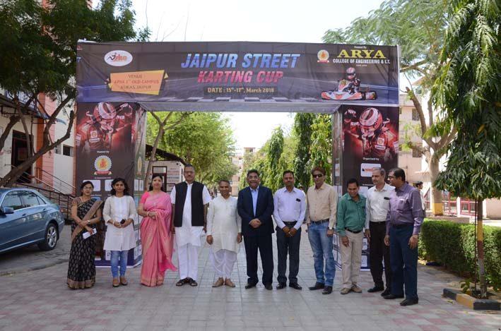 Jaipur_Street_Karting_Cup_2018_3, arya college jaipur