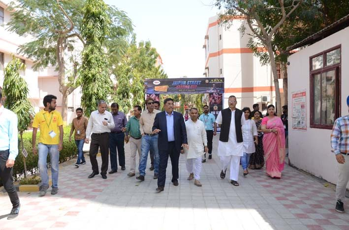 Jaipur_Street_Karting_Cup_2018_4, arya college jaipur