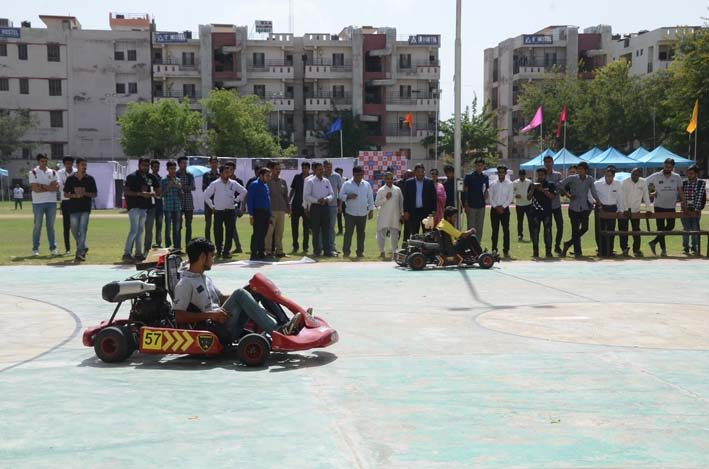 Jaipur_Street_Karting_Cup_2018_11, arya college jaipur