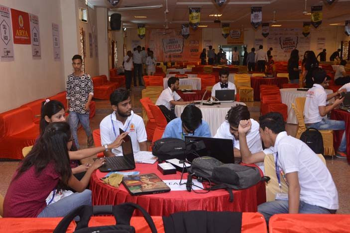 AryaHackathon2018_1, arya college jaipur