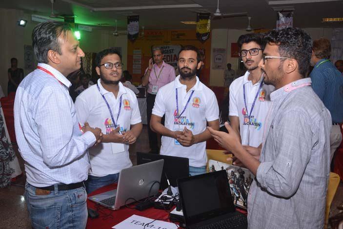 AryaHackathon2018_2, arya college jaipur