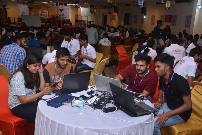 AryaHackathon2018_5, arya college jaipur