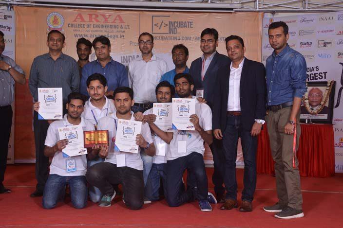 AryaHackathon2018_7, arya college jaipur