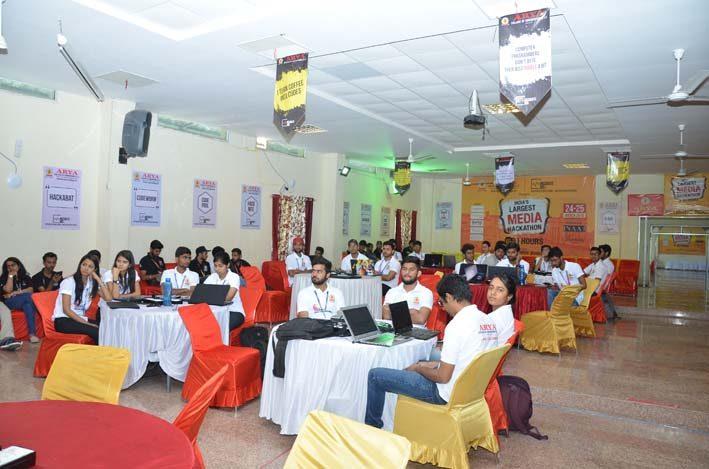 AryaHackathon2018_11, arya college jaipur