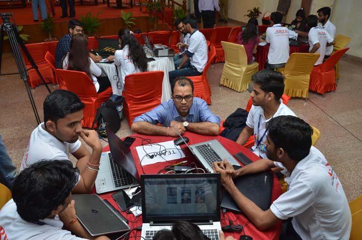 AryaHackathon2018_12, arya college jaipur