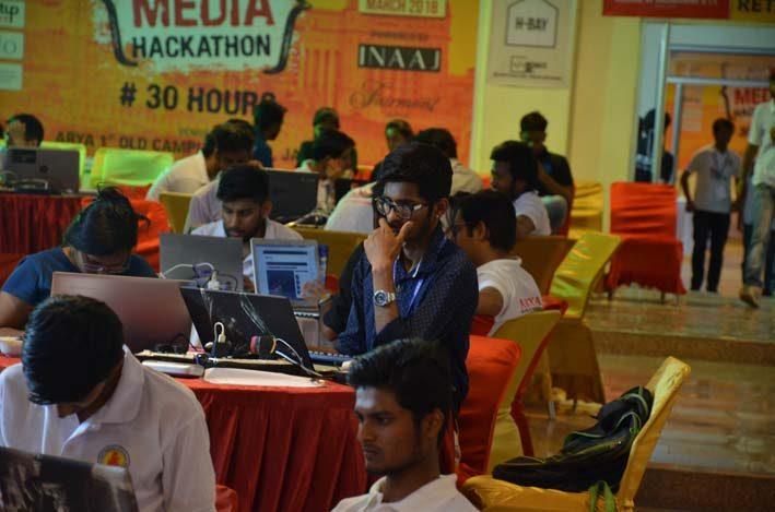AryaHackathon2018_13, arya college jaipur
