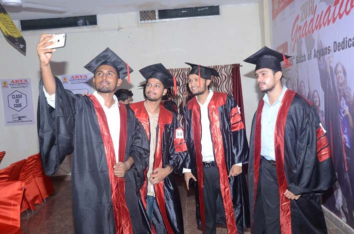 Arya_GraduationDay2018, arya college jaipur