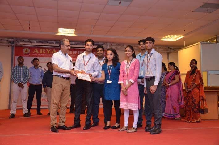 Arya_Exergie2018, arya college jaipur