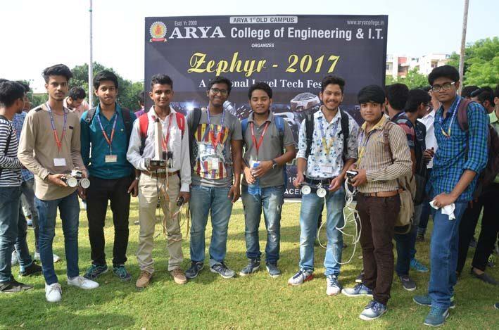 AryaZephyr_2017_4, arya college jaipur