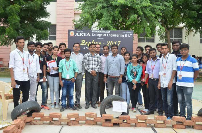 AryaZephyr_2017, arya college jaipur