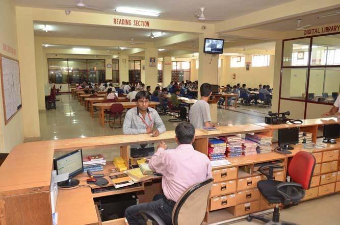 library of arya, arya college of engineering and IT, arya 1st old campus, arya sp42, arya college jaipur, arya college kukas, best engineering college in rajasthan