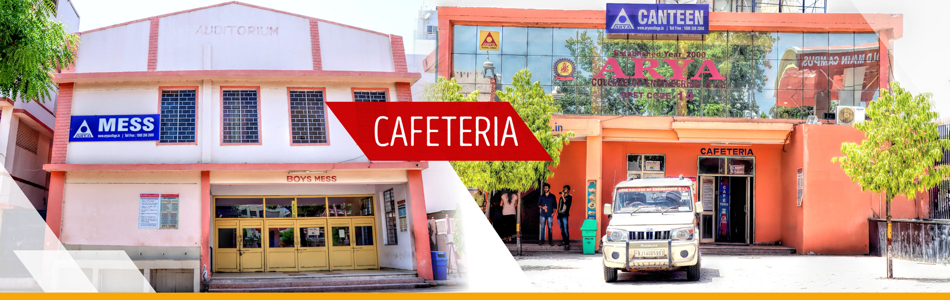 Cafateria of Arya College of engineering and IT