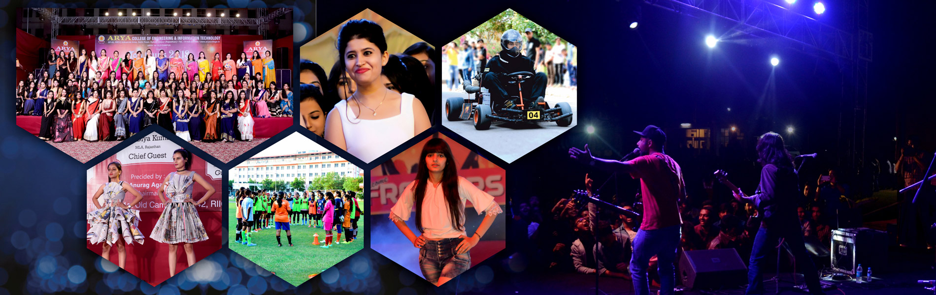 Event Gallery of Arya College Rajasthan