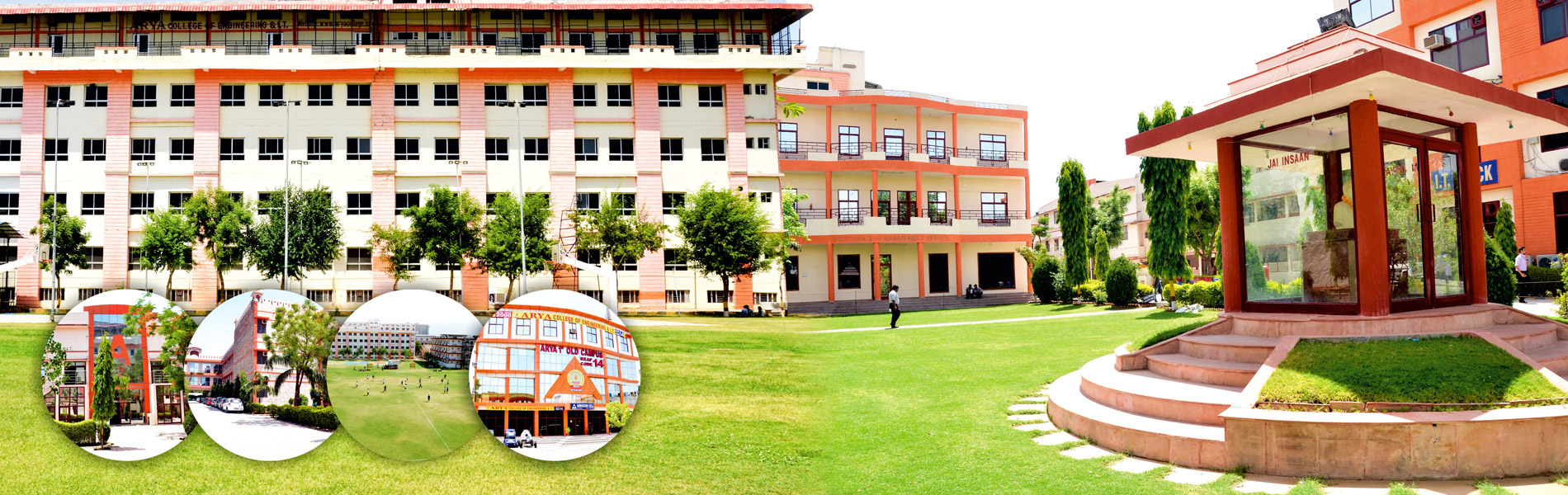 Front View of Arya College of engineering and IT