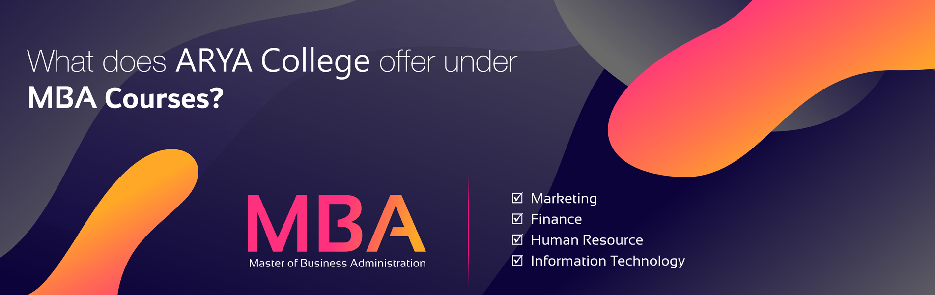 What-does-Arya-College-offer-under-MBA-courses
