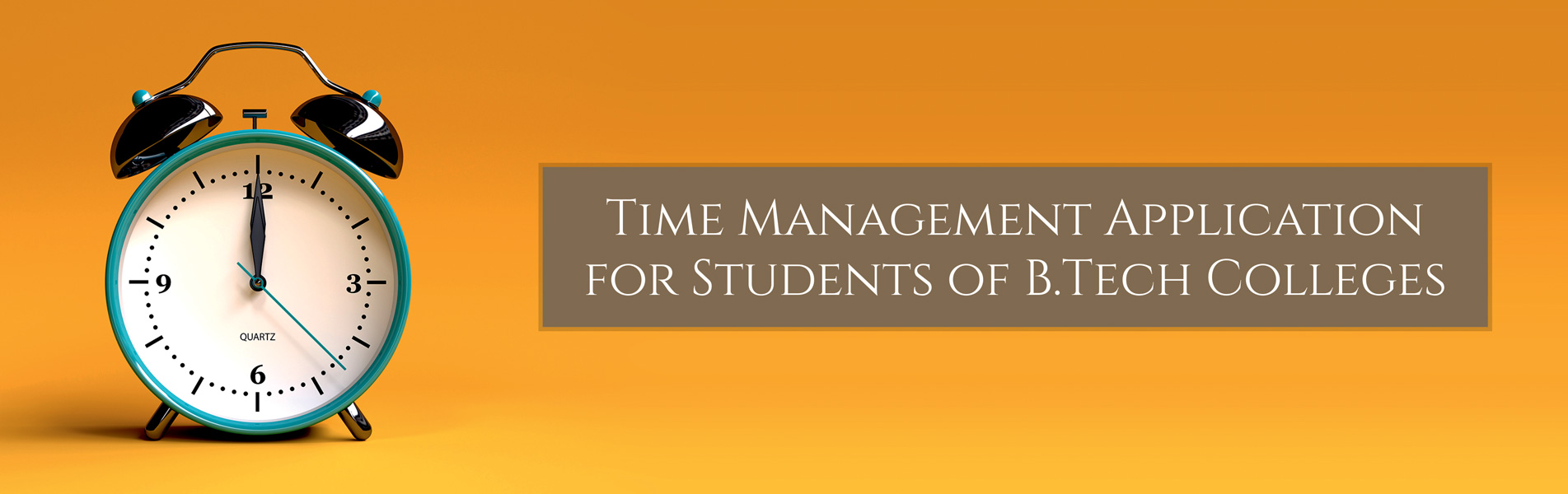 Time-Management-Application-for-Students-of-B-Tech-Colleges