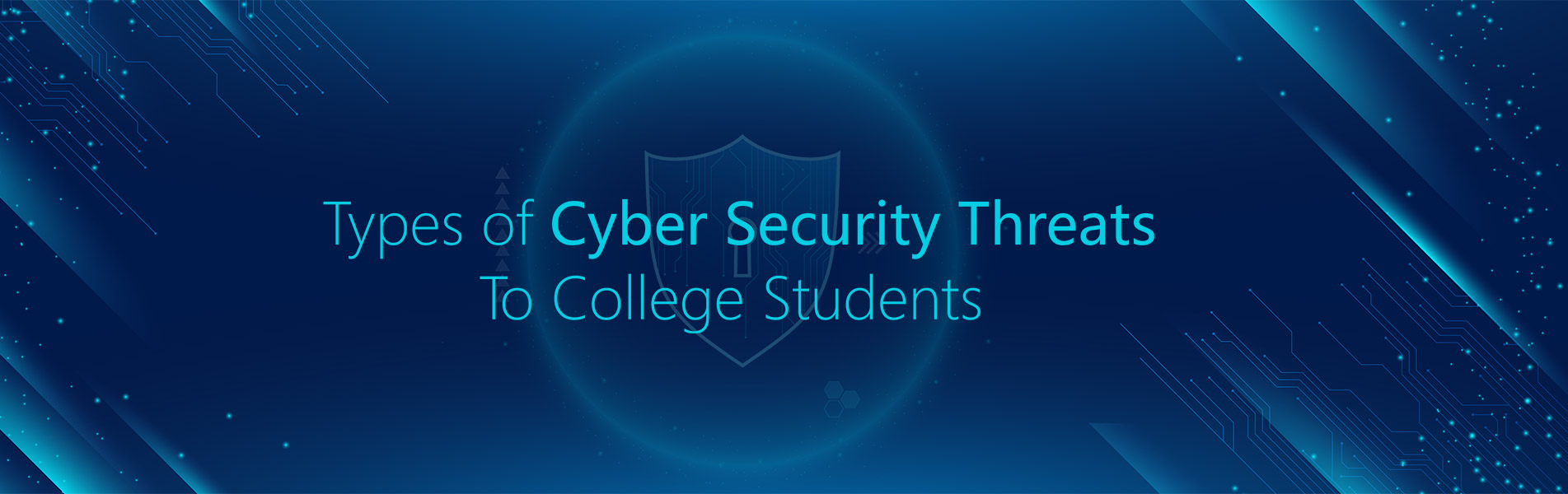 Types of cybersecurity threats to college students