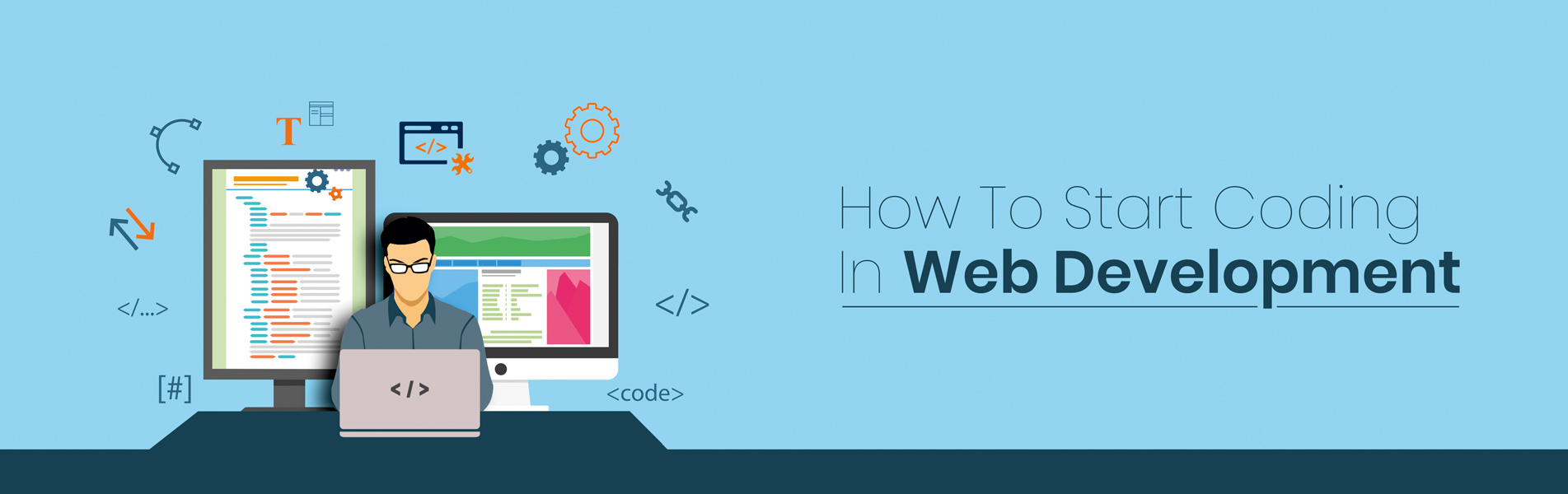 How to Start Coding in Web Development