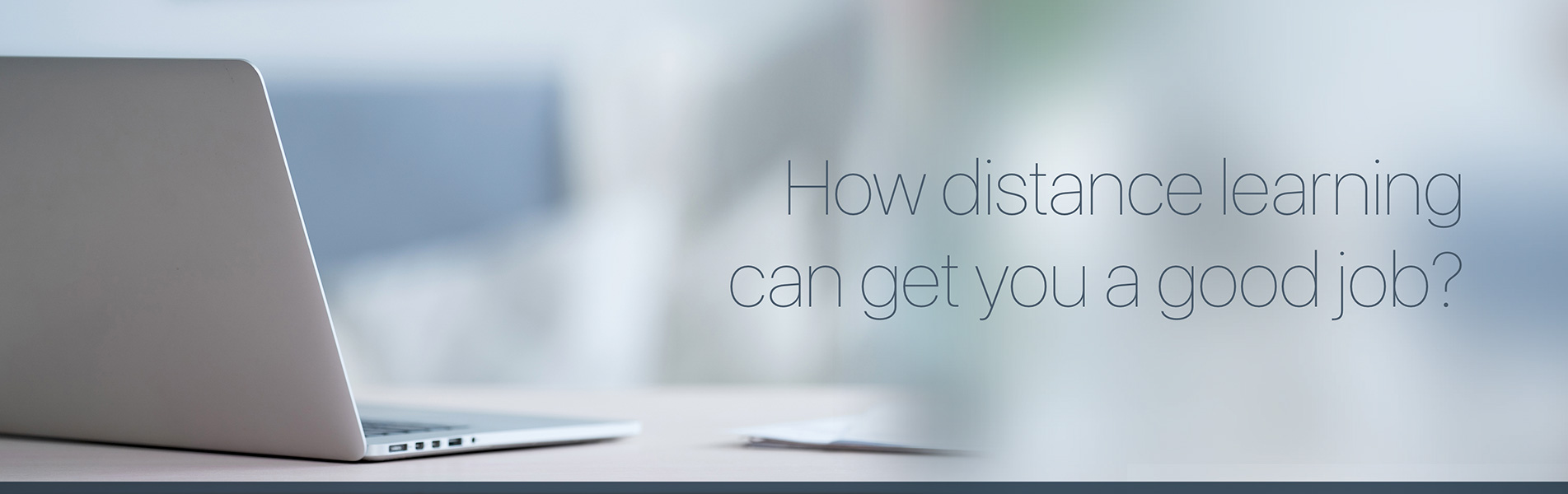 distance learning, job, career