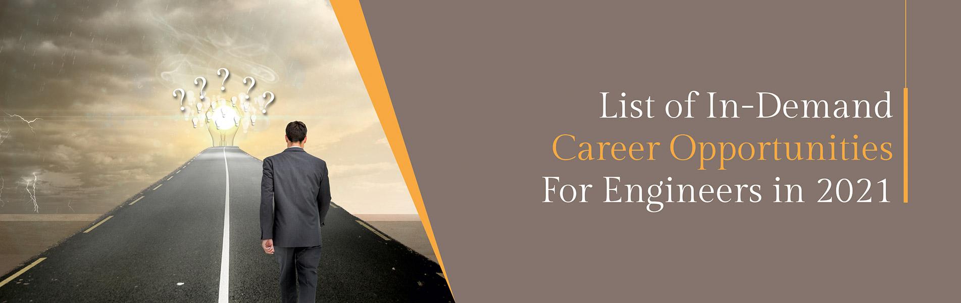 career opportunities, engineers