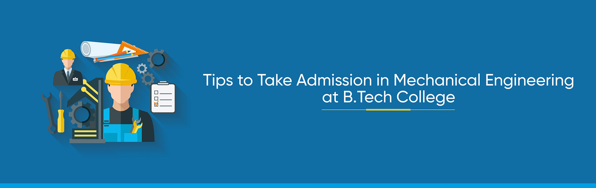 Admission in Mechanical Engineering, BTech College