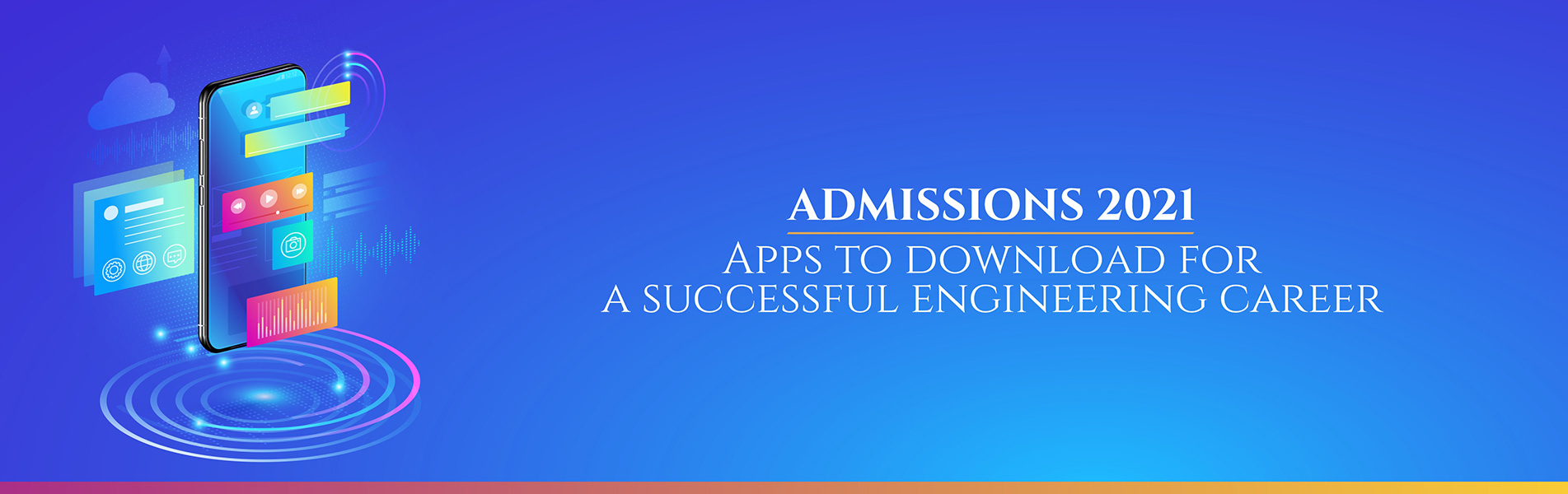 Admissions 2021, engineering career