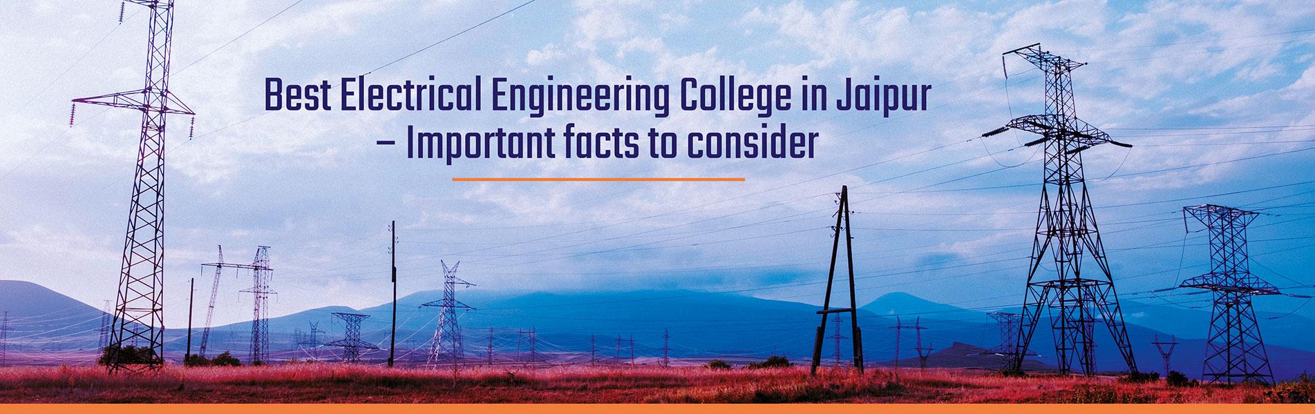 Best Electrical Engineering College in Jaipur
